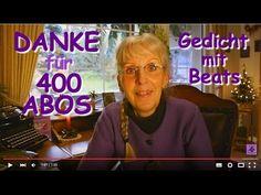 FreyaGlücksweg146 ❤ Danke für 400 Abos ❤ Dank an 400 YouTube-Abonnenten - Danke für 400 Abos, Herzlichen Dank für 400 Abonnenten, Dank für 400 Abonnenten, Dank-Gedicht, Lieber Abonnent ich danke Dir, Danke für YouTube-Abos, Danke fürs YouTube-Abo, Danke fürs YouTube-Abonnement, YouTube-Abonnent, YouTube-Abonnenten,  Gedicht, Gedichte, Lyrik, Poesie, Verse, Reime, Poem, Poetry, Lyric, Video, Videos, Gedicht mit Musik / Beats, Video-Clip, YouTube-Video, Gedicht-Video, YouTuber, SmallYouTuber,