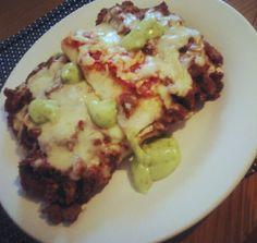 Homemade lasagne!
