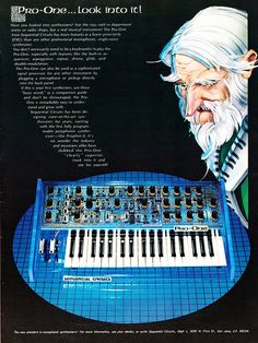 Sequential Circuits Pro-One ad from Musician magazine, May 1982     Use autoresponder for newsletter publishing. Find out more at http://www.trafficwave.net/members/kataro