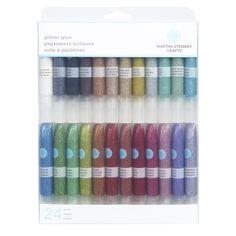 Martha Stewart Crafts™   Glitter Glue 24-pack