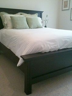 Queen Farmhouse Bed with Arch | Do It Yourself Home Projects from Ana White