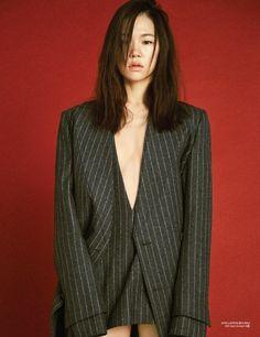 Style Korea: The Art of Korean Fashion • Han Ye Ri for Harper's Bazaar Korea December 2015....