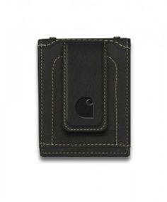 8f066765361b #Carhartt Men's Magnetic Front Pocket Wallet Full grain leather Six credit  card pockets Magnetic money