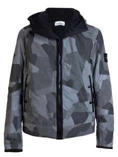 c53b564a2ac Stone Island Camo Reflective Jacket