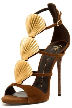 Giuseppe Zanotti - Shoes - 2015 Spring-Summer. Make the heel wider and I would be begging for these shoes