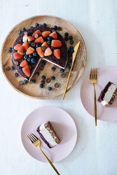 Raw Blueberry 'Cheesecake' Recipe