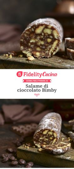 Salame di cioccolato Bimby Maleficent Party, Biscotti, Sweets, Cookies, Breakfast, Cake, Desserts, Food, Crack Crackers