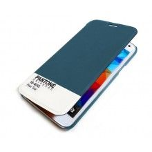 Capa Livro Samsung Galaxy S5 Pantone Universe FlipCover Azul R$75,30