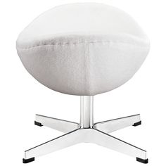 """Glove Wool Ottoman In White - EEI-265-WHI Free Shipping DESCRIPTION : Delight in perfect symmetry with the harmonious Glove Ottoman in Wool. Designed with sprawling wing tips and amorphous form, the Glove Ottoman is a study of opposites built from the most exacting design specifications. Layered in upholstered wool over a cozy foam frame, adorn yourself with precision as you embark on a more sophisticated state. Dimension : Overall Product Dimensions : 21.5""""L x 16""""W x 15.5""""H"""