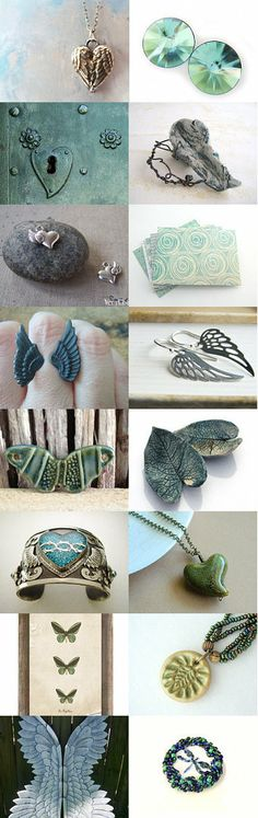 Wings of hearts by TREE on Etsy--Pinned with TreasuryPin.com