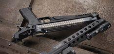 Fn Five Seven, Rainier Arms, Shooting Bench, Lower Receiver, Shot Show, Police Gear, Iron Sights, Big Guns, Retro Futuristic