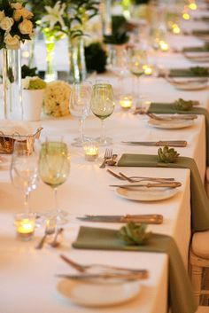 Green Formal Layout