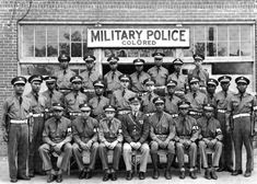 African American Military Police in Military Police Army, Army Soldier, Military Uniforms, Military Aircraft, Women's Army Corps, Ww2 Pictures, Vintage Pictures, American Soldiers, African American History
