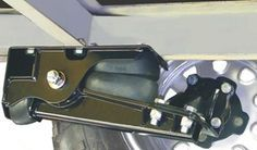 Independent trailer suspension kit rated at 3500 lbs