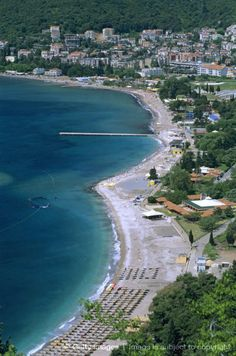 Slovenska Beach, Budva, The Budva Riviera, Montenegro, Europe