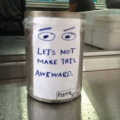 Artist Coffee Tip Jar