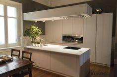 cocinas isla moderna cocina islas blanca americana modernas blancas madera muebles americanas suarco comedor kitchen gabinetes diseno visitar espacio encimeras