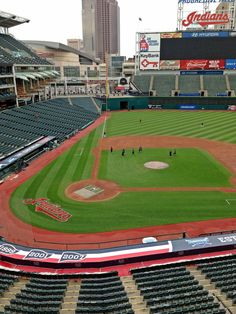 Progressive Field, home of the Cleveland Indians: been there! Nice stadium, but, it's Cleveland...so yeah...