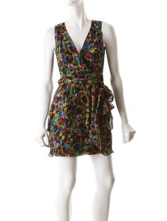Nanette Lepore Crossover Dress