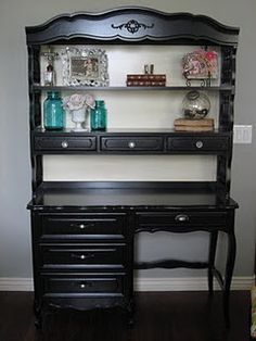 awesome website for how to turn those dingy garage sale finds into BEAUTIFUL furniture!