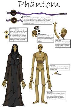 Phantom's Design by MaverickTears on DeviantArt