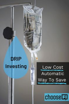 Automated investing is one of the best ways to build your future. We all know about IRAs, and mutual funds, but one tried and true method is Drip Investing, Share Prices, Day Trader, Time Management Tips, How To Get Rich, Ways To Save, Easy Diy Projects, Money Saving Tips