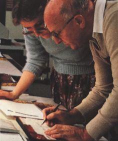 Günter Gerhard Lange drawing stuff