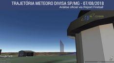 Análise da trajetória do meteoro que cruzou o céu de São Paulo e a divisa com Minas Gerais registrado pelo Observatório Municipal de Campinas já está no site: press.exoss.org