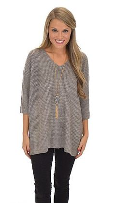 The sweater that keeps on giving! $49 at shopbluedoor.com