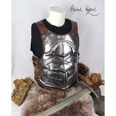 Fannborg breastplate for LARP. Viking Cosplay, Viking Costume, Medieval Costume, Real Vikings, Larp Armor, Reference Images, Costumes, Trending Outfits, Etsy