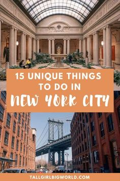 New York Travel Guide, New York City Travel, Travel Tips, Travel Guides, New York City Trip, Nyc Tourist Attractions, Attractions In New York, Cool Places To Visit, Places To Go