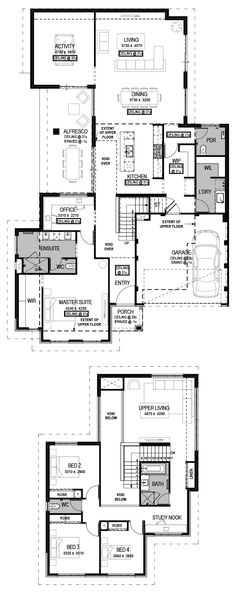 The Savona Floorplan by National Homes
