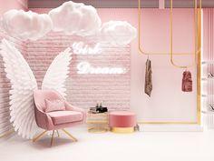 Beauty Room Decor, Beauty Salon Decor, Beauty Salon Interior, Salon Interior Design, Interior Design Magazine, Beauty Salon Design, Boutique Decor, Boutique Interior, Boutique Design