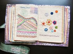 How to make sample stitch book2161