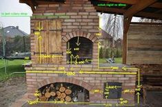 grillo wędzarnia projekt by buc Backyard Smokers, Outdoor Smoker, Outdoor Kitchen Grill, Outdoor Barbeque, Pizza Oven Outdoor, Backyard Kitchen, Outdoor Kitchen Design, Backyard Bbq, Outdoor Fireplace Designs