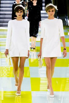 Louis Vuitton Spring 2013 RTW. Look 28.