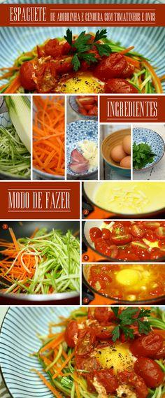 Pasta inspired: espaguete de abobrinha