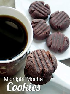 [VEGAN] Midnight Mocha Cookies