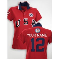 A classic cotton mesh polo is finished with bold country embroidery,  celebrating Team USA s participation in the 2012 Olympics. Ralph Lauren --  Official ... fce3aab3f8e