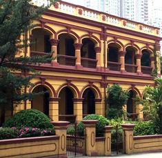 colonial architecture macau - Google Search Colonial Exterior, Colonial Architecture, Macau, Outdoor Living, Google Search, Outdoor Life, The Great Outdoors, Outdoors, Bushcraft