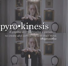 Seven wonders {pyrokinesis} {coven} ahs Series Movies, Movies And Tv Shows, Tv Series, Ahs, American Horror Story Quotes, Blake Steven, All The Bright Places, Season Of The Witch, Seven Wonders