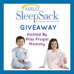 #HALOSleepSack Big Kids or Early Walker Wearable Blanket #Giveaway