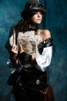 Steampunk Girl #Provestra #Skinception #coupon code nicesup123 gets 25% off
