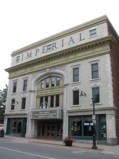Imperial Theatre - Saint John, New Brunswick.. My great grandfather rennie opend this theatre . And now I'm naming my daughter after this man