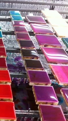 Color wood sampling #epoxy #colorcoating