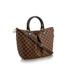 Siena MM - Damier Ebene Canvas - Handbags   LOUIS VUITTON