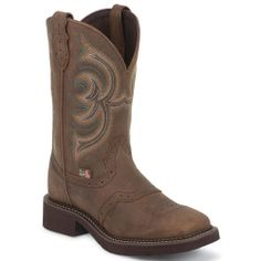 L9984 Women's Gypsy Western Justin Boots - Aged Bark