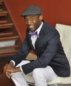 Mikel Welch from @HGTV Design Star featured in AphroChic Style Talk interview.