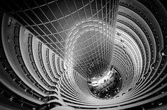 Grand Hyatt atrium in Shanghai #architecture ☮k☮