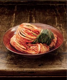 Kimchi ©Korean Food Fondation  if you have never had real kimchi, it is delish... spicy cabbage ... eat as side with mild foods